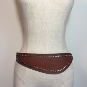 Free People Riley Studded Leather Belt
